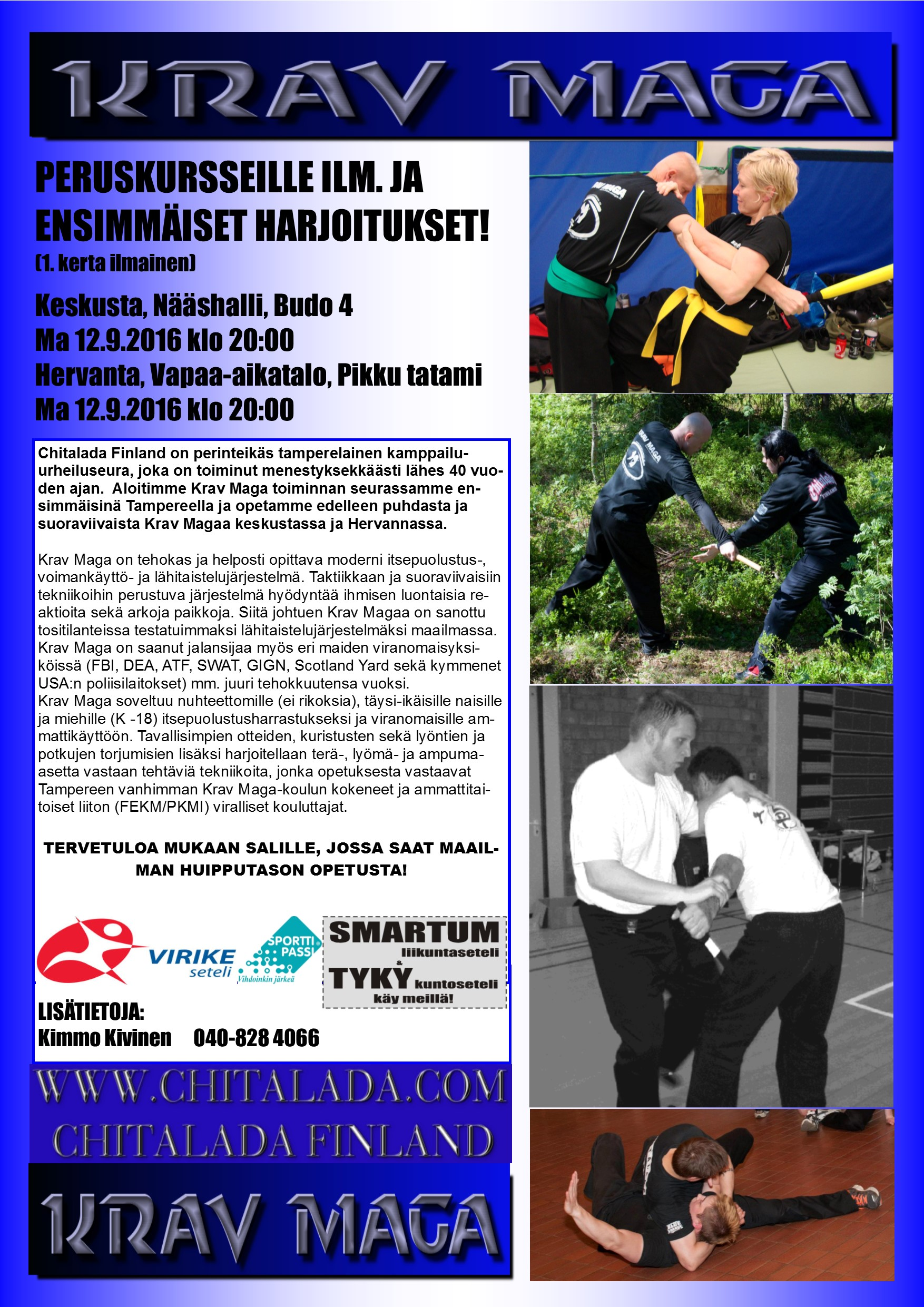 Krav Maga Tampere A3 new april